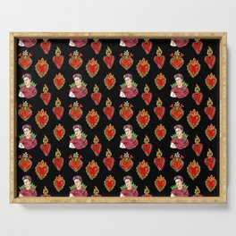 Sacred Hearts and Frida Serving Tray