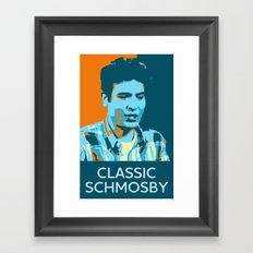 Classic Schmosby Framed Art Print