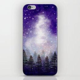 Galaxy (version 1) iPhone Skin