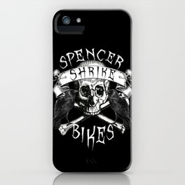 Shrike Bikes Double Raven iPhone Case