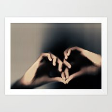 Another way to love Art Print