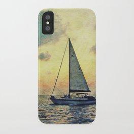 Sailing Along iPhone Case