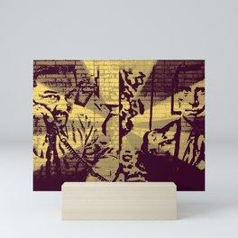 Gervais V Carell V Brent V Scott Mini Art Print
