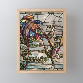 Louis Comfort Tiffany - Decorative stained glass 16. Framed Mini Art Print