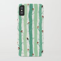 robin iPhone & iPod Cases featuring Robin by Karina R
