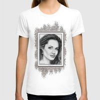 angelina jolie T-shirts featuring Angelina Jolie in 2005 by JMcCombie