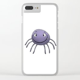 Spider Smile Clear iPhone Case