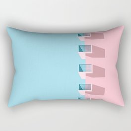 cool. calm. collected. Rectangular Pillow