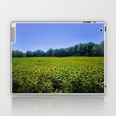 Field of Sunflowers Laptop & iPad Skin