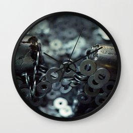 Magnets & Washers Wall Clock
