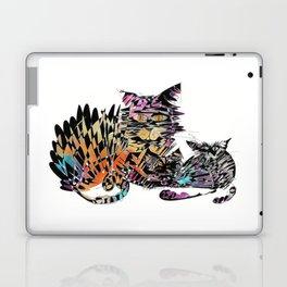 Three colored cats Laptop & iPad Skin
