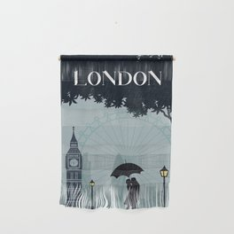 London vintage poster travel Wall Hanging