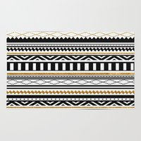 aztec Area & Throw Rugs featuring Aztec by Kakel
