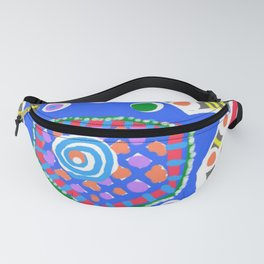 Blue star Fanny Pack