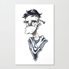 Frankenstein Hipster Canvas Print