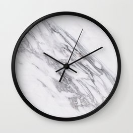 Alabaster marble Wall Clock