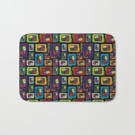 Stained Glass Gems Bath Mat