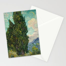 Cypresses - Van Gogh Stationery Cards