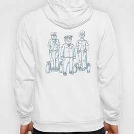 Cops on Segways Hoody