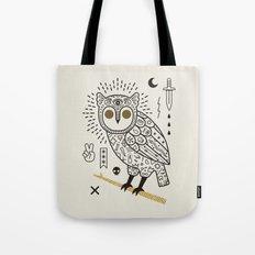 Hypno Owl Tote Bag
