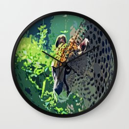 On the Prowl-d Wall Clock