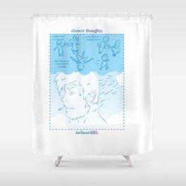 Shower Thoughts (awkwardIRL#10) Shower Curtain