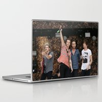 one direction Laptop & iPad Skins featuring One Direction by behindthenoise