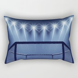 MMA arena Rectangular Pillow