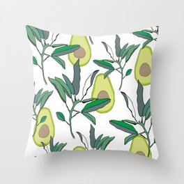 AVOCADO Throw Pillow