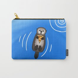 Sea Otter with Pizza Carry-All Pouch
