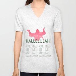 Hallelujah 2 Unisex V-Neck