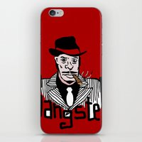 gangster iPhone & iPod Skins featuring Gangster by Logan_J