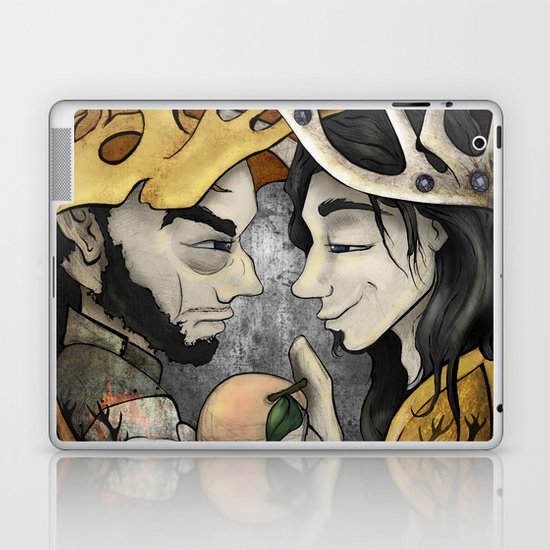 King's Peach Laptop & iPad Skin