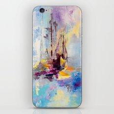 Illusive boats iPhone Skin