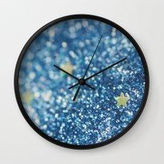 Like a Diamond in the Sky Wall Clock