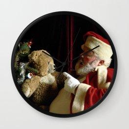 Teddy Talk Wall Clock