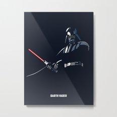 Star Wars - Darth Vader Metal Print