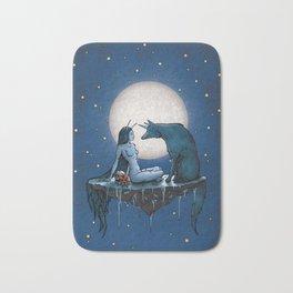 Abigail & The Unicon Wolf Bath Mat