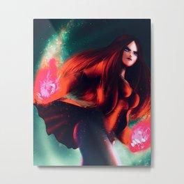 Scarlet Witch Metal Print