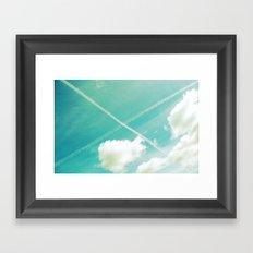Scottish sky 2594 Framed Art Print