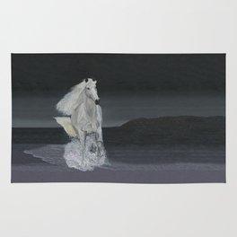 White Horse Freedom Rug