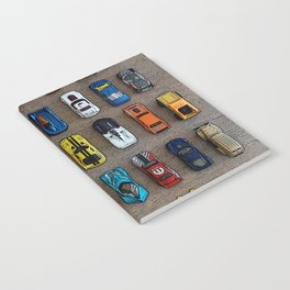 1980's Toy Cars Notebook