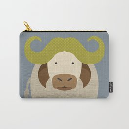 Whimsy Cape Buffalo Carry-All Pouch