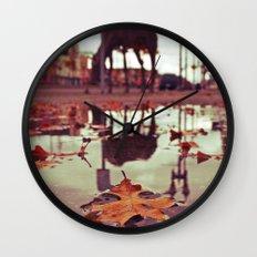 Roadside water Wall Clock