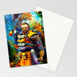 toxic trapper Stationery Cards