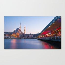 Istanbul Sunrise Canvas Print