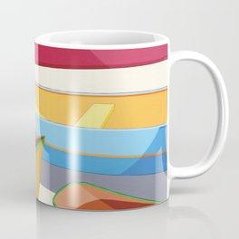 COLORED BOATS Coffee Mug