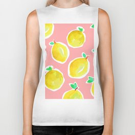 Lemon Crush 2 Biker Tank