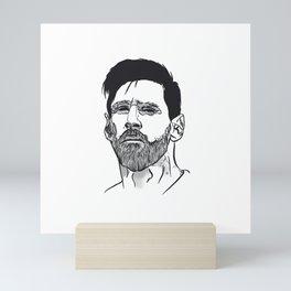 Messi 10 Mini Art Print