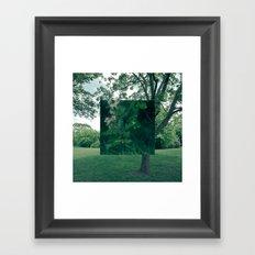 Fokus Objekt Abstand n°4 Framed Art Print